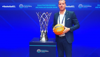 Basketbola kluba VEF Rīga jaunais prezidents Gatis Jahovičs