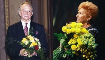 Ingrīda Edīte Saulīte un Haralds Ritenbergs - Mūža balvas dejas mākslā saņēmēji
