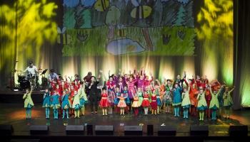 Bērnu vokālā studija «Knīpas un Knauķi» aicina uz krāšņu 50 gadu jubilejas koncertu