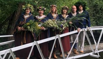 """Gaidot Vasaras saulgriežus, iepazīsimies ar Ciblas folkloras kopu """"Ilža"""""""