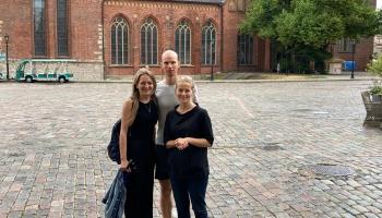Klāt Rīgas Vēsturiskās mūzikas un dejas festivāls! Studijā Laura Šarova un Ēriks Bosgrāfs