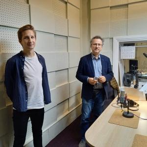"""Aigars Reinis, Aigars Raumanis un """"Pilsētas sapņi"""" Rīgas Domā"""