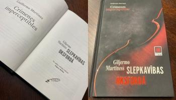 "Giljermo Martinesa kriminālromāns ""Slepkavības Oksfordā"""