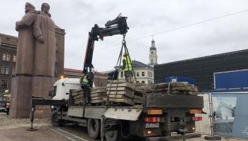 Okupācijas muzeja pārbūvi cer pabeigt pavasarī