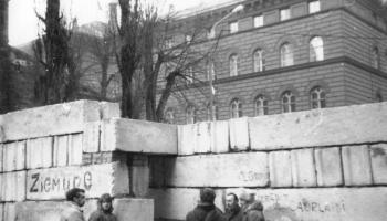 1991. gada janvāris - saspringts laiks Latvijas Televīzijā