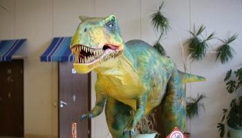 Daugavpilī ieradies Tiranozaurs Rekss