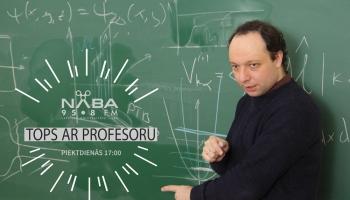 """LU asoc. prof. V. Kaščejevs izvērtē aktuālo mūziku rubrikā """"Tops ar profesoru"""""""