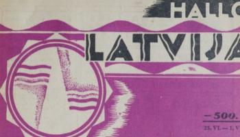 Reklāma un sludinājumi gan pirms gadiem 90, gan pagājušā gadsimta nogalē