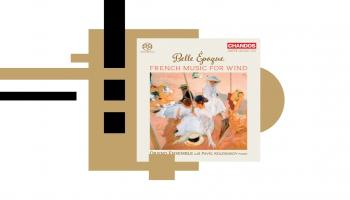 """Kloda Debisī Rapsodija un franču mūzika pūšaminstrumentiem albumā """"Belle Epoque"""""""