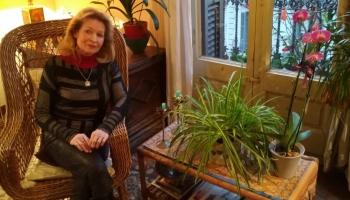 Vijolniece Ieva Graubiņa Barselonā