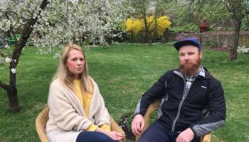 Paliatīvā aprūpe Latvijā un Norvēģijā. Vērtē Kristīne un Edgars Ķiguri