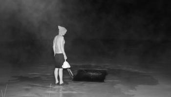 Iveta Gabaliņa izveidojusi pirts tēmai veltītu fotoizstādi ''Riti raiti rīta rasa''