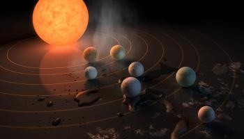 Vai zinājāt, ka kosmosā ir ļoti daudz planētu, ne tikai tās, kuras atrodas Saules sistēmā?