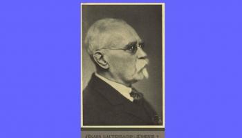 Jēkabs Lautenbahs - folklorists un literatūras vēsturnieks, LU mācībspēks