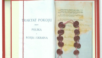 Vai zināt, kurā vietā Rīgā var apskatīt tā dēvēto Rīgas miera līgumu?