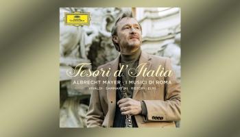 "Albrehts Maijers un ""I Musici di Roma"" albumā ""Tesori d'Italia"""