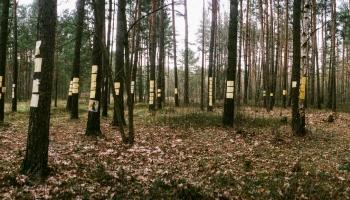 Baltkrievu fotogrāfs Maksims Saričavs izstādē runā par traģiskiem vēsturiskiem notikumiem