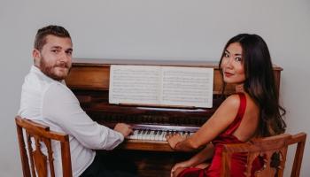 Klavierduets Roksana Tarvide un Kaspars Bumbišs - raksturos atšķirīgi, bet saderīgi mūzikā