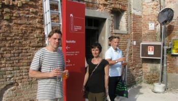 Iespaidi Venēcijas mākslas biennālē un Londonas Zeltkaļu centrā