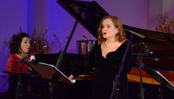 Evija Martinsone un Agnese Egliņa Kalniņa, Mediņa, Barisona un Šūberta mūzikā
