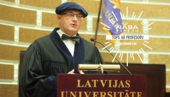 Aktuālo mūziku izvērtē Latvijas Universitātes vēstures profesors Gvido Straube