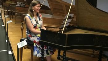 Klavesīniste Ieva Saliete: Arī latviešu mūzikai piemīt vertikāle
