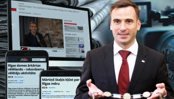 Cilvēks ziņu virsrakstos: Rīgas vēlēšanas un mērs Mārtiņš Staķis