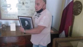 Miervaldis Brodovs Sēlijā ceļ godā Vecā Stendera vārdu