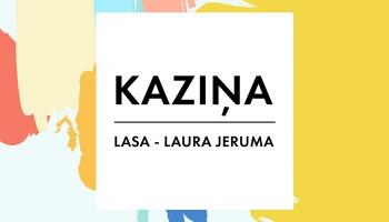 """Pasaku """"Kaziņa"""" stāsta Liepājas teātra aktrise Laura Jeruma"""