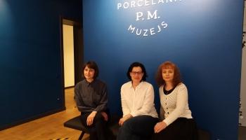 Durvis apmeklētājiem vēris renovētais Rīgas Porcelāna muzejs