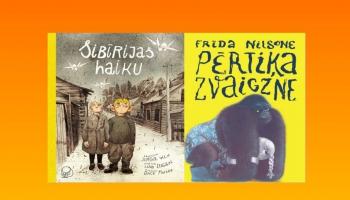 """Atšķirīgas, bet emocionāli līdzīgas grāmatas: """"Sibīrijas haiku"""" un """"Pērtiķa zvaigzne"""""""