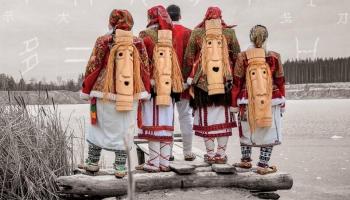 Dziesmas mordviešu, pakistāniešu un galīsiešu valodā
