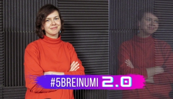 """#5BREINUMI 2.0 & Ligija Purinaša par sievietes drošību un """"Centrs MARTA"""""""