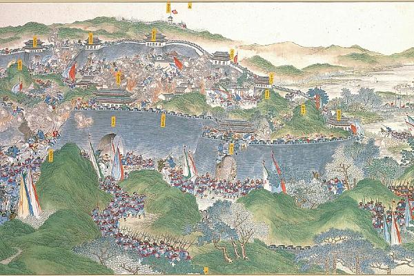 19. jūlijs. Taipinu kustības sacelšanās sakāves aizsākums: galvaspilsētās Nankinas krišana