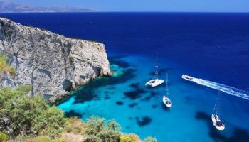 Saulainās un leģendām apvītās Jonijas salas