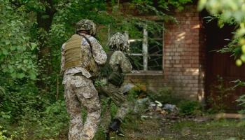 """Brīvdienās militārās mācības """"Namejs"""" ienāca Rīgā, daudzus tas nepatīkami pārsteidza"""