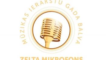 "Paziņoti balvas ""Zelta mikrofons 2020"" pretendenti"