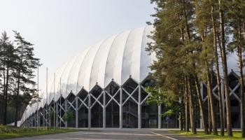 """Skatē """"Gada labākā būve Latvijā"""" - labākā publiskā jaunbūve Mežaparka Lielā estrāde"""