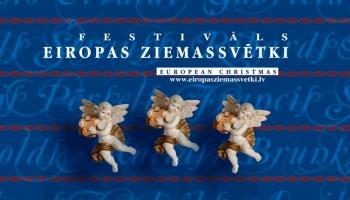 """Rīgas koncertzāles un baznīcas ieskandinājis festivāls """"Eiropas Ziemassvētki"""""""