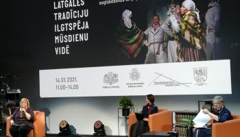 """Ieskats seminārā """"Latgales tradīciju ilgtspēja mūsdienu vidē"""" Latgales vēstniecībā GORS"""