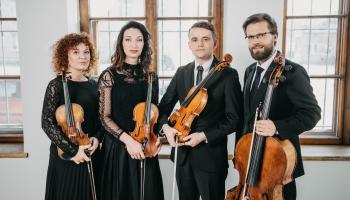"""Rudens lamentācijas. """"Sinfonietta Rīga"""" stīgu kvarteta koncerts Latvijas Radio 1. studijā"""