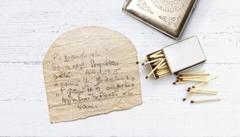 Aizvesto ardievas: Nezināma izsūtītā atvadu zīmīte