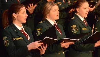 С песней по Латвии: поющие пограничники провели гастрольный тур