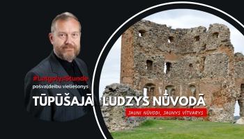 Prīškvieliešonu diskuseja jaunveidojamajā Ludzys nūvodā.