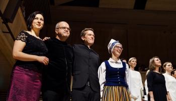 """Cīrihē turpinās Baltijas kultūras dienas! Reportāža no koncerta """"Terra Choralis"""""""
