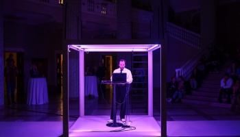 """Platons Buravickis divkārt mūsdienu kultūras forumā """"Baltā nakts"""""""