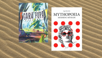 """Ingus Barovska """"Mythopoeia. Mūsdienu mītrade"""" un dzejas gadagrāmata """"Garā pupa"""""""