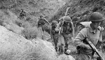Otrais pasaules karš. 1943.gads. Fašistiskā režīma sabrukums Itālijā