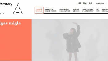 """""""Arterritory.com"""" izveidojis virtuālo galeriju un arī pagaidu mākslas salonu"""