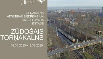 """Ojāra Vācieša muzejā izstāde """"Zūdošais Torņakalns"""". Ko mainīs """"Rail Baltica""""?"""